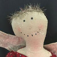 Folk Art Hand Made Angel Doll Cloth