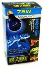 Exo Terra Night-Glo Moonlight A19 Lamp Watt 75 Watts For Reptiles