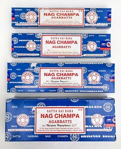 Satya Nag Champa Incense Sticks Blue Box Pick 15 40 100 250 gms - Fresh Stock !!