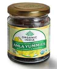 Organic India Amla Yummies Amla Fruit with Rich in Vitamin C & Antioxidants 100g