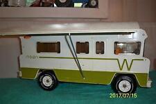 """Tonka Mighty Good 1970's Winnebago Indian Camper Truck Pressed Steel  23 """"  Long"""