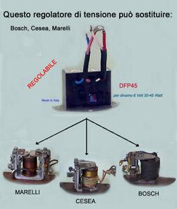 Regolatore 6 V per dinamo Marelli Bosch (moto epoca)
