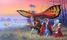HD Canvas Print home decor wall art painting,michael cheval-121 18x30inch