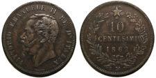10 centesimi 1862 M BB