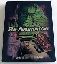 REANIMATOR 1985 Limited Edition Steelbook Blu-Ray Second Sight Region B Import