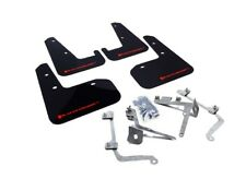 RALLYARMOR 2011-2014 SUBARU WRX STI SEDAN 4DR RALLY ARMOR MUD FLAPS BLACK / RED