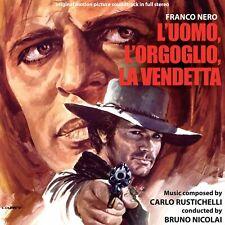 Carlo Rustichelli L'Uomo L'Orgoglio La Vendetta OST CD Digitmovies Pride and Ven
