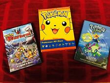 Pokemon All Stars (DVD, 2007, 10-Disc Set) Rise of Darkrai & Pokemon 4EVER DVDs