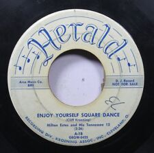 Country Promo 45 Milton Estes And His Tennessee 12 - Enjoy Yourself Square Dance