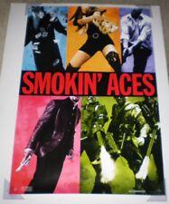 SMOKIN' ACES MOVIE POSTER 1 Sided ORIGINAL 27x40 RYAN REYNOLDS RAY LIOTTA