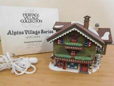 Dept 56 Alpine Village - Sport Laden