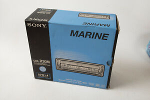 Sony Marine Stereo CDX-R30M (M4L) Never Installed NOS New in Box 52Wx4 MP3 Boat