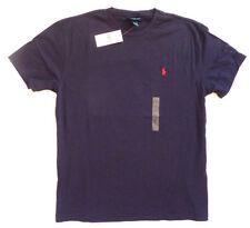 Magliette da uomo blu Ralph Lauren taglia M