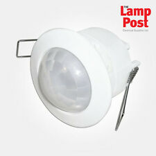 Eterna PIRFM360 Internal 360° PIR Motion Sensor Flush Mounted IPX4 White