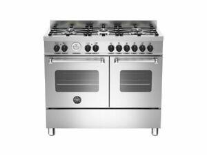 Bertazzoni MAS1006-MFED-XE Master 100 6 Burner Double Oven Range RRP £1,999++