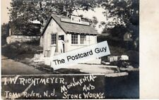 Rare Isaac Richtmeyer Tombstone Cutter Toms River NJ RPPC Real Photo New Jersey
