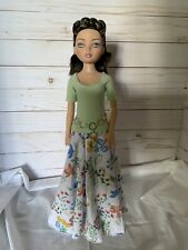 "Ellowyne Wilde 16"" Doll Tonner Outfit Fashion Gown - Gypsy Floral"