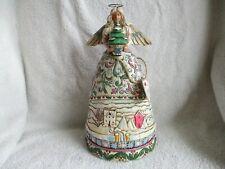 "Jim Shore Angel Winter Figurine ""Landscape Sleeps"" #117677 Nwt"