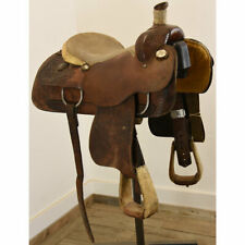 "Used 14"" Charles Keith Calf Roping Saddle Code: C14CHARLESKEITH"