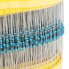 600Pcs 30 Values 1/4W Metal Film Resistors Resistance Assortment Kit Set 1% NEW