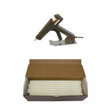"""Low Temp Glue Gun + 1/2"""" (7/16 in)  x 10 in, Hot Melt, Low Temp Glue, 50 Sticks"""