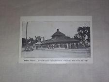 VINTAGE 1912 GREAT ADDISON COUNTY FAIR VERMONT FLYER  POSTCARD