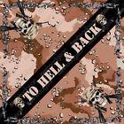 Hell and Back Camo Design ZANheadgear Brand Bandana Head Scarf  22x22