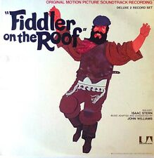FIDDLER ON THE ROOF - MOVIE SOUNDTRACK - 2 LP SET + ORIG.CAST PROGRAM