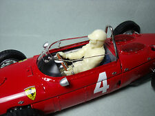 PHIL  HILL  1/18  UNPAINTED  FIGURE   BY  VROOM  FOR  FERRARI  156   CMC   EXOTO