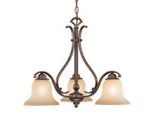 3 L Monrovia Vaxcel Royal Bronze Chandelier Lighting Ceiling Lamp CH35403RBZ/B