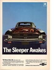 1968 CHEVROLET NOVA SS 396 ~ ORIGINAL MUSCLE CAR AD