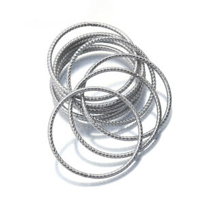 10X Round Hoop Circle Connectors O Ring Charms For Diy Jewelry Making Components