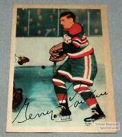 1953-54 Parkhurst Hockey Card #84 Gerald Couture (EX+/NM)
