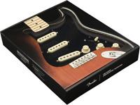 Genuine Fender Pre-Wired Strat Pickguard Hot Noiseless SSS Black