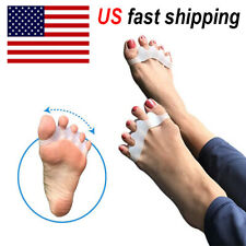 1pair Toe Separator Stretcher Spreader Spacer Bunions Hammer Toes Corrector