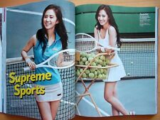 SNSD Girls' Generation YURI/CUTTING 8P--Magazine Clips/Cosmopolitan Korea 2013