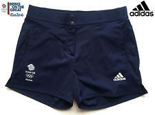 ADIDAS TEAM GB RIO 2016 OLYMPICS ELITE LADY ATHLETE EASY WOVEN SHORTS Size 12