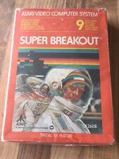 Atari 2600:     SUPER BREAKOUT