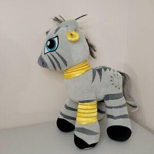 """Build A Bear My Little Pony Gray Zebra Zecora Plush 17"""""""