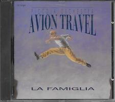 """AVION TRAVEL - RARO CDs 1993 """" LA FAMIGLIA """""""