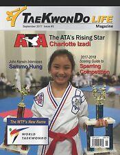 Taekwondo Life Magazine September 2017 Issue- ATA's Rising Star Charlotte Izadi