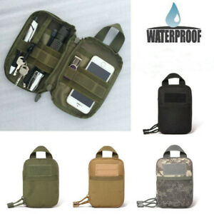 Tactical Molle Belt Waist Bag Pack Military Pouch Tool Fanny Pack Phone Pocket