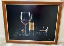 """Michael Godard """"Catch the Cork"""" Sold Out Ltd Edition Giclee Signed 188/250"""