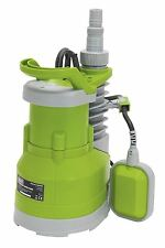 Sealey submersible pompe à eau 217ltr/min automatique 230V WPC235P