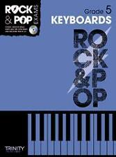TRINITY ROCK & POP EXAMS Keyboards Grade 5 + CD