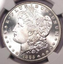 1885-Cc Morgan Silver Dollar $1 - Ngc Ms66+ Pq Plus Grade - $3,650 Value!