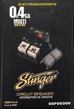 Stinger High Current 300 Amp Circuit Breaker 0 or 4 Gauge AWG 12 Volt SGP90300