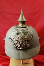 WORLD WAR I GERMAN PRESSED FELT PRUSSIAN SPIKE HELMET - #M11423