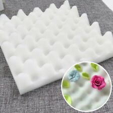 2Pcs Foam Dry Pads Drying Sponge Mats Cake Fondant Sugar Flower Tool Kitchen DIY