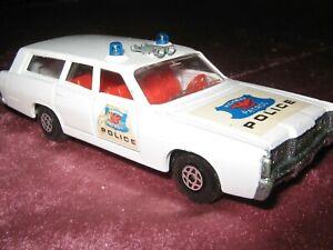 Lesney, Matchbox, SpeedKings, K-23: Mercury Commuter Police, weiss, 1970, 1,-